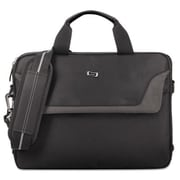 United States Luggage Pro Slim Briefcase - Black, 14.1 in.(AZTY16001)