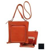 Raika 7.5in. x 8in. Travel Shoulder Bag - Black(RKA1911)