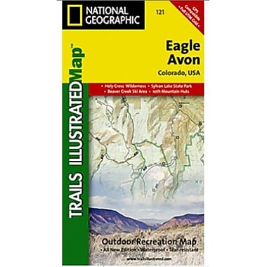 National Geographic Map Of Eagle-Avon - Colorado(NGS194)