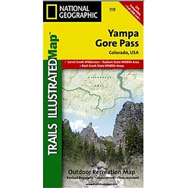 National Geographic Map Of Yampa-Gore Pass - Colorado(NGS193)