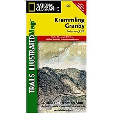 National Geographic Map Of Kremmling-Granby - Colorado(NGS189)