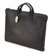 Claire Chase Zippered Folio with Handle - Black(CLRCS147)
