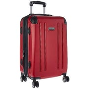 Heritage Travelware 20 in. O Hare Hardshell ABS Lightweight Expandable, 8 Wheel Upright Carry-On Luggage Bag - Barn Red(HTR415)
