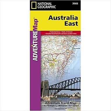 National Geographic Maps Australia East Adventure Map(NAGGR277)