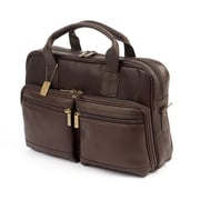 Claire Chase Santorini Briefcase, Cafe(CLRDS228)