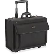 United States Luggage Classic 16'' Rolling Catalog Case, 18-3/4 x 10-1/2 x 14-3/4, Black(AZERTY21927)