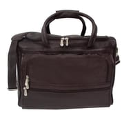 Piel Traveler Computer Carry-All Bag - Chocolate(PIEL097)