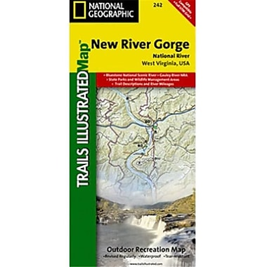 National Geographic Map Of New River Gorge National River - West Virginia(NGS221)