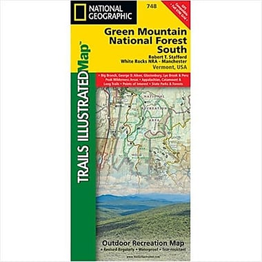 National Geographic Maps Green Mountains N.F. White Rocks NRA - Manchester Map(NAGGR415)