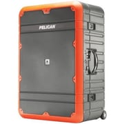 Pelican 30 in. Vacationer Elite Basic Progear Luggage, Orange & Gray(PETRA19725)