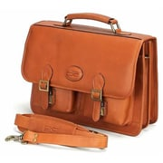 Claire Chase Business Briefcase XL - Saddle(CLRCS020)