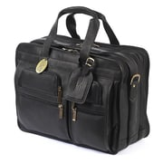 Claire Chase Executive Computer Briefcase X-wide - Black(CLRCS017)