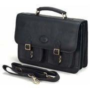 Claire Chase Business Briefcase XL - Black(CLRCS022)