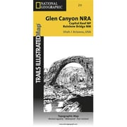 National Geographic Map Of Glen Canyon National Recreation Area-Capitol Reef National Park - Utah(NGS352)