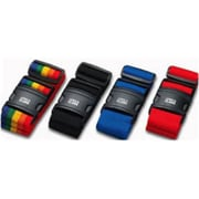 Lewis N Clark Quick-Release Luggage Belt - Black(LWS147)
