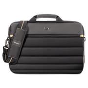 United States Luggage Pro Slim Briefcase - Black, 15.6 in.(AZTY16018)