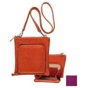 Raika 7.5in. x 8in. Travel Shoulder Bag - Magenta(RKA1914)