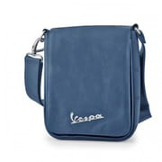 Vespa Small Messenger Shoulder Bag - Blue - 8.7 x 2.4 x 7.5 in.(FRME206)