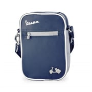 Vespa Small Shoulder Bag - Blue - 9.1 x 2.2 x 7.1 in.(FRME185)