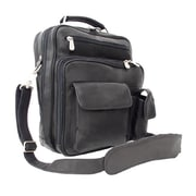 Piel Men's Leather Bag - Black(PIEL304)