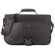 United States Luggage Classic Expandable Messenger - Black, 15.6 in.(AZTY16017)