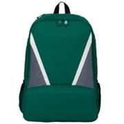 Augusta 1767A Dugout Backpack, Dark Green, Graphite & White - One Size(HRTW41792)
