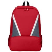 Augusta 1767A Dugout Backpack, Red, Graphite & White - One Size(HRTW41790)