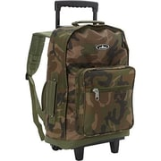 Everest Woodland Camo Wheeled Backpack - Camo(EVRT800)