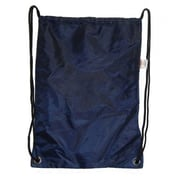 DDI Large Drawstring Backpack 18 in. x 13 in. Navy. Case Of 100(DLRDY260535)