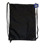 DDI Large Drawstring backpack 18 in. x 13 in. Black Case Of 100(DLRDY260537)