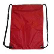 DDI Large Drawstring Backpack 18 in. x 13 in. Red. Case Of 100(DLRDY260536)