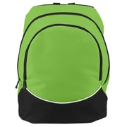 Augusta 1915A-Lime- Black- White-ALL Large Tri-Color Backpack, Lime, Black-White(HRTW104967)