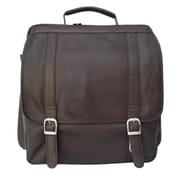 Piel Chocolate Vertical Backpack(PIEL206)