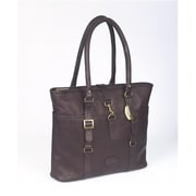 Claire Chase New Ladies Computer Handbag - Cafe(CLRCS175)
