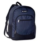 Everest Casual Backpack with Side Mesh Pocket - Black(EVRT789)