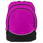 Augusta 1915A-Power Pink- Black- White-ALL Large Tri-Color Backpack, Power Pink, Black-White(HRTW105098)