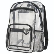Augusta 2204A-Clear-ALL 100 Percent PVC Clear Backpack(HRTW105528)