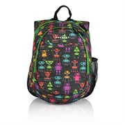 Obersee Kids Pre-School All-In-One Backpack with Cooler - Robots(HLMN198)