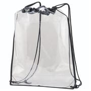 Augusta 2200A-Clear-ALL Clear Cinch Bag, Clear - One Size Fits All(HRTW105603)