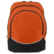 Augusta 1915A-Orange- Black- White-ALL Large Tri-Color Backpack, Orange-Black-White(HRTW105262)
