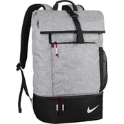 Nike Sport Backpack - Silver, Red & Black(PRMGF8307)