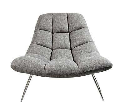 Adesso Bartlett Chair Light Grey (GR2004-03)