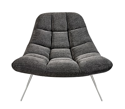 Adesso Bartlett Chair Charcoal Grey (GR2004-10)