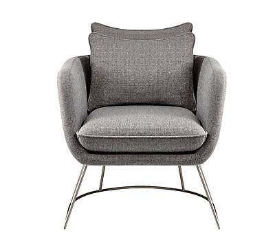 Adesso Stanley Chair Light Grey (GR2005-03)