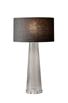 Adesso Beverly Table Lamp, Clear (3860-10)