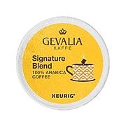 Gevalia Signature Blend Coffee, Keurig® K-Cup® Pods, Light Roast, 6/Box (5000199723)