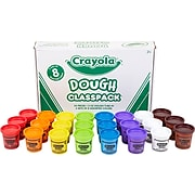 Crayola Dough Craft Set, Assorted Colors, 24/Box (57-0171)