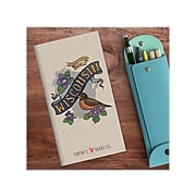 """Undated TF Publishing Wisconsin 3.5"""" x 6.5"""" Paperboard Phone/Address Book, Multicolor, Each (99-WISCAB)"""