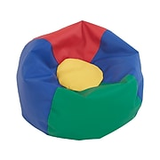 SoftScape Classic Junior Faux Leather Bean Bag Chair, Assorted (10477-AS)