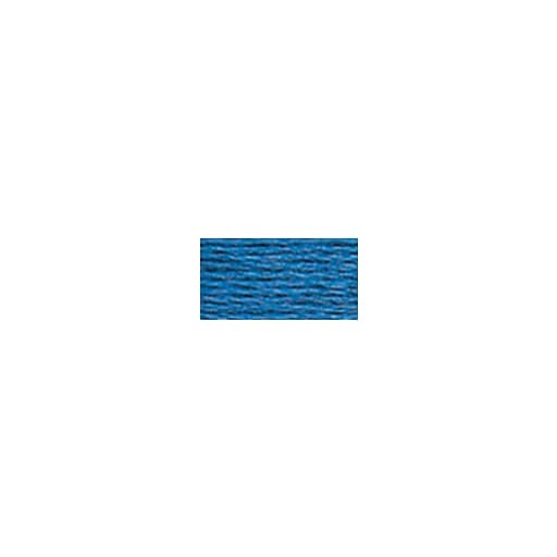 DMC Six Strand Embroidery Floss, Cotton, 8.7 Yards, Dark Blue (117-825)